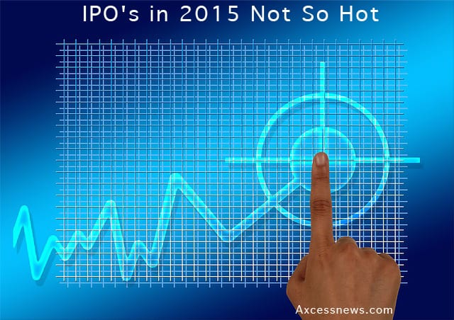 stock chart - 2015 ipos not so hot