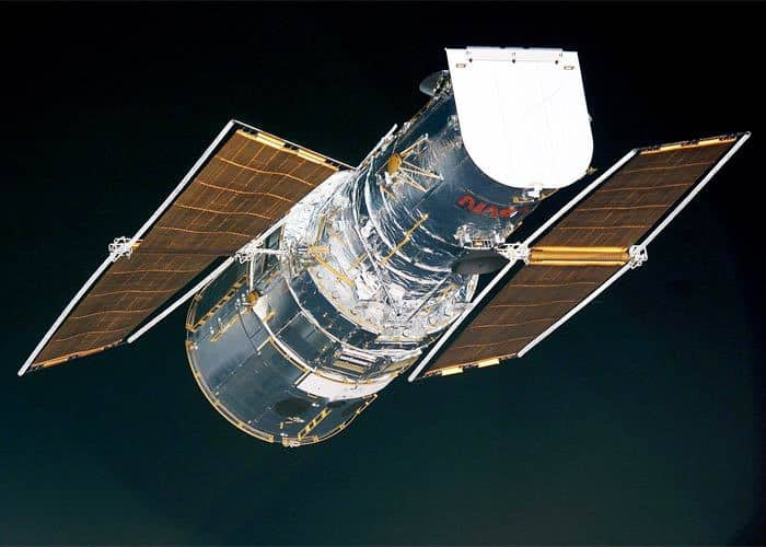 hubble telescope.