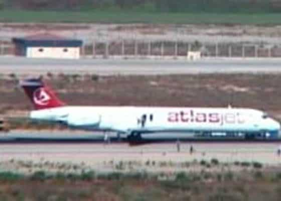 turkish plane hijacked.