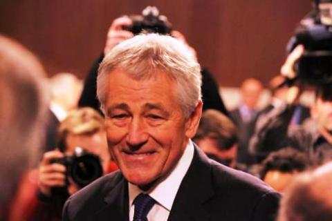 Lawmakers grill Hagel at Senate hearing to decide Defense Secretary appointment
