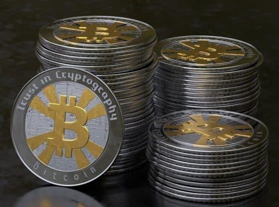 Crypto coins.