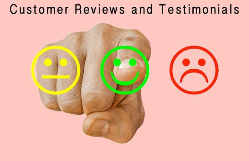customer reviews and testimonials. Image by Tumisu from Pixabay