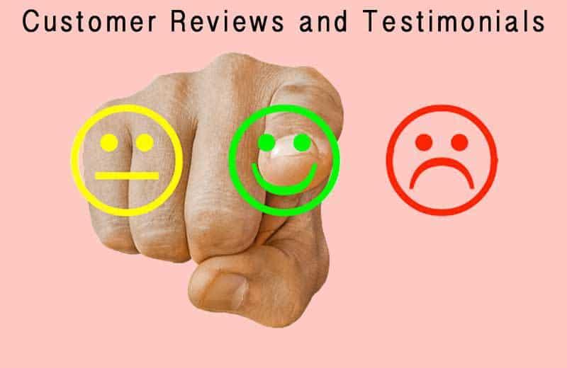 customer reviews and testimonials. Image by Tumisu from Pixabay