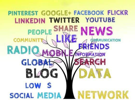low social media budget