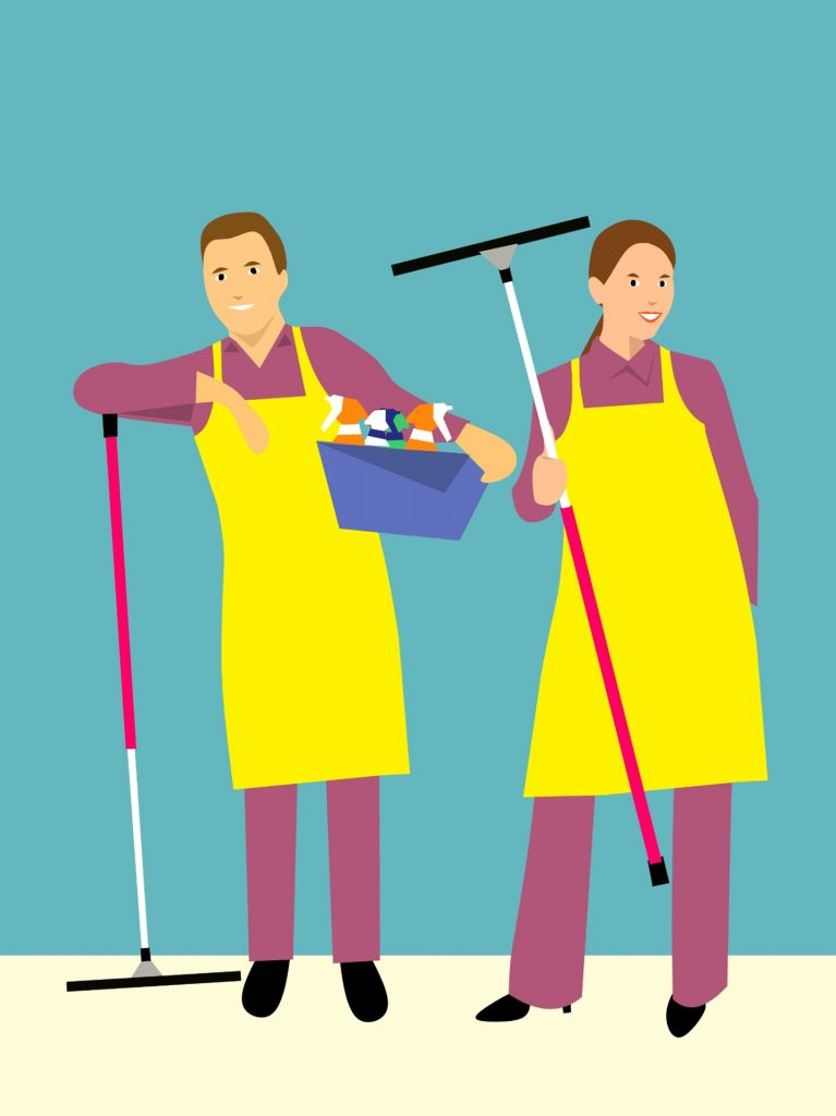 Why your business needs outsourced janitorial services. Image by mohamed Hassan from Pixabay