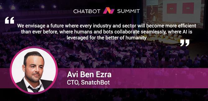 Avi Benezra explains the impact of chatbots on businesses 1