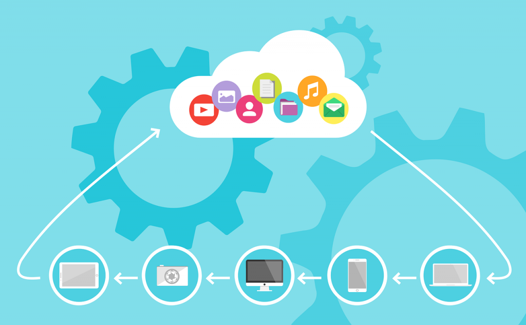 cloud computing. Image by 200 Degrees from Pixabay