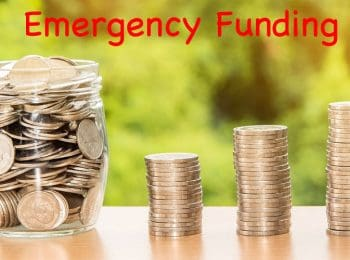 emergency funding - image by nattanan kanchanaprat pixabay, modified by axcessnews