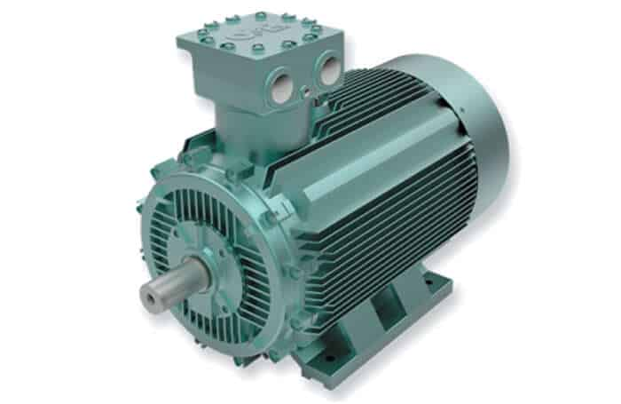 one of the OMEX low voltage electric motors. Image by NewsBlaze.