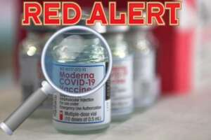 Moderna Vaccine particles